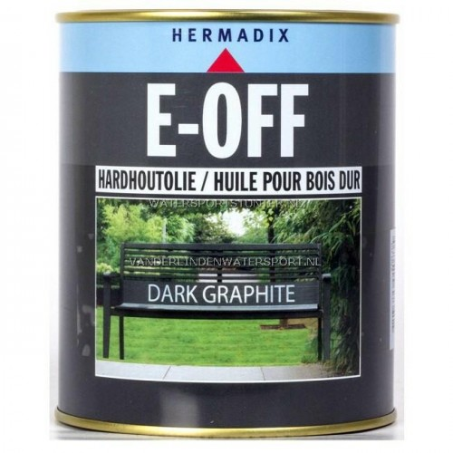 Hermadix E-Off Hardhoutolie Dark Graphite 750 ml