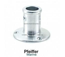 Vlaggenstokhouder Aluminium Recht 25 mm