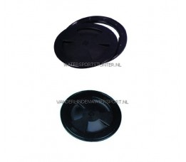 Inspectieluik Zwart 170 mm