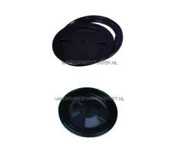 Inspectieluik Zwart 200 mm