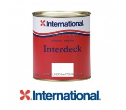 Antislipverf Interdeck Wit 750 ml