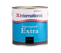 International Interspeed Extra Antifouling Zwart 2,5 Liter