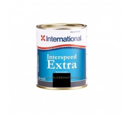 International Interspeed Extra Antifouling Zwart 750 ml