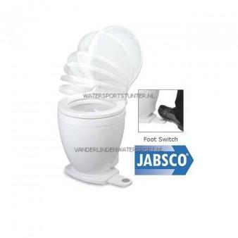 Toilet Jabsco Lite Flush 12 V - Voetschakelaar