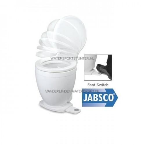 Jabsco Toilet Lite Flush 12 Volt - Voetschakelaar