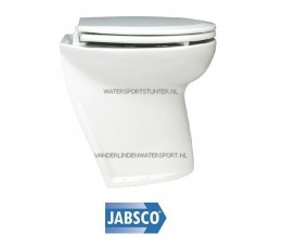 Jabsco Toilet 17 Luxe Buitenwater Schuin 24 Volt