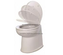 Jabsco Toilet Luxe 17 Buitenwater Recht SC 12 Volt / 58240-3012