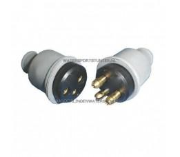 Kabelverbinder Rubber 3-Polig