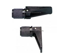 Lensplug 22 mm Zwart