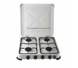 Kooktoestel Wit 4 Pits Beveiligd