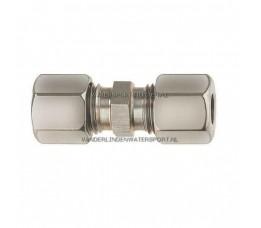 Koppeling Recht 12 x 12 mm Gas Staal
