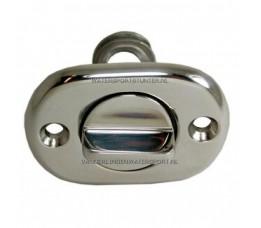 Lensplug RVS 24 mm