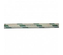 Uni Schoten & Vallen Lijn Wit/Groen 14 mm