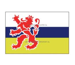 Vlag Limburg 20x30 cm