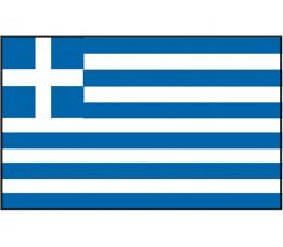 Vlag Griekenland 20x30 cm