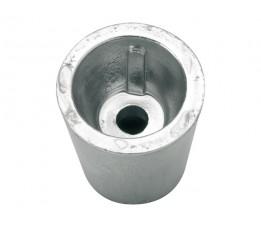 Dopanode Schroefas 25 mm Conisch