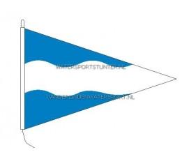 Vlag Maassluis 30x45 cm Punt