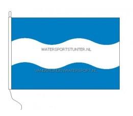 Vlag Maassluis 20x30 cm Recht
