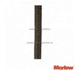 Marlow 8-Voudig Mat 5 mm Zwart