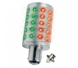 MAST LED BAY15D 2-KLEUR 10-30 Volt Navigatielamp