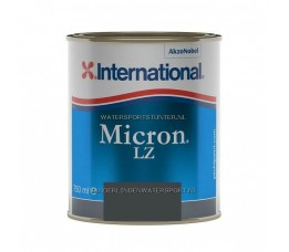 International Micron LZ Antifouling Zwart 750 ml
