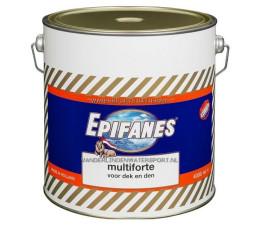 Epifanes Multiforte Verf 4 Liter Zwart