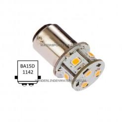 NauticLED BA15D LED Tower 10-35V 1W/10W Warm Wit
