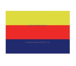 Vlag Noord-Holland 20x30 cm