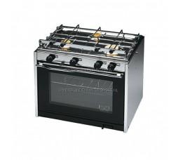 Techimpex XL3 Oven + 3 pits Kooktoestel