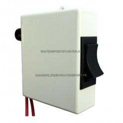 Schakelaar Elektrisch Toilet 12 en 24 Volt