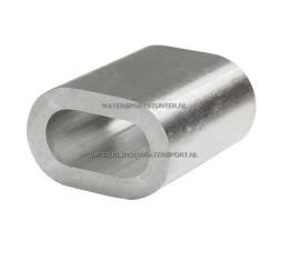 Persklem Aluminium 6 mm