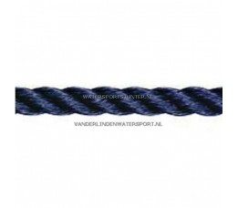 Polyester Lijn 3-Strengs Navy 12 mm
