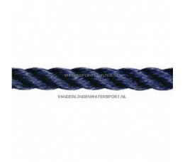 Polyester Lijn 3-Strengs Navy 14 mm