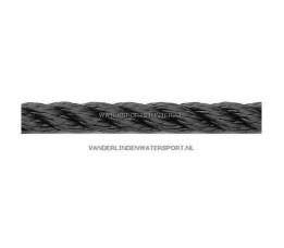 Polyester Lijn 3-Strengs Zwart 18 mm
