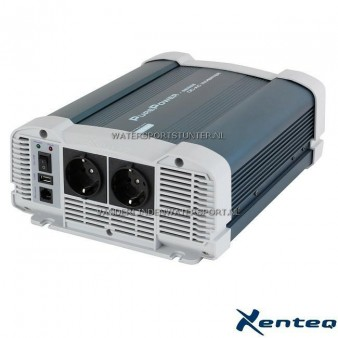 Xenteq Sinus Omvormer PurePower 12 Volt 1500 Watt
