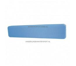 Railingkussen PE Blauw 96 cm