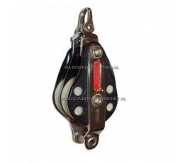 Ronstan RF1257 Blok 2 Schijfs + HV 8 mm