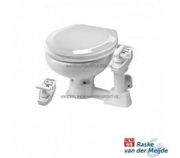 RM69 Sealock Toilet Kleine Pot Witte Houten Bril