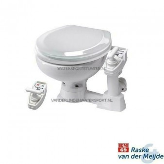 RM69 Sealock Toilet Kleine Pot Witte Kunststof Bril