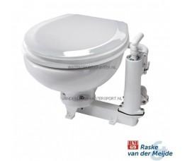 RM69 Handtoilet Kleine Pot Witte Houten Bril