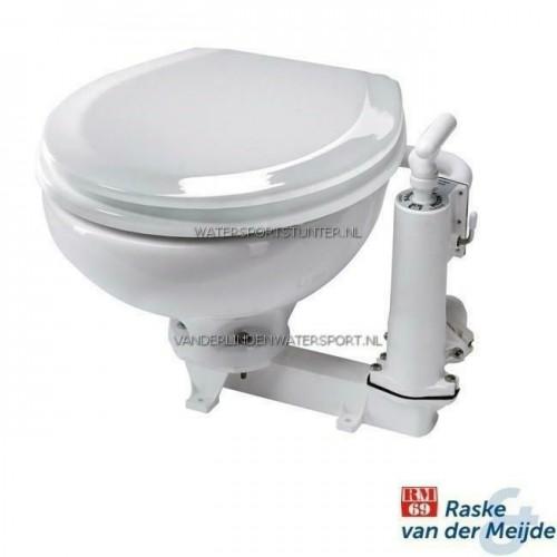 RM69 Handtoilet Kleine Pot Witte Kunststof Bril