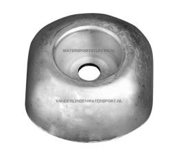 Roerbladanode Aluminium 100 mm