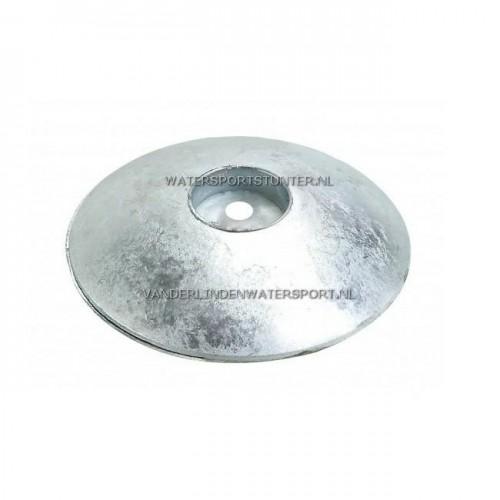 Roerbladanode Aluminium 110 mm