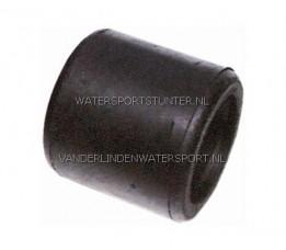 Geleiderol 108 mm Zwart