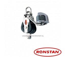 Ronstan RF30332 Blok 3 Schijfs Met Klem