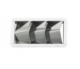 Ventilatierooster RVS 3 Sleuven
