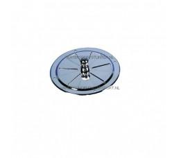Ventilatierozet Rond RVS 125 mm