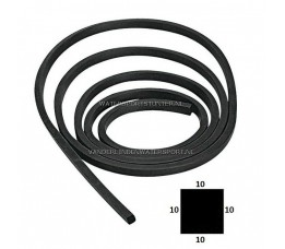 Patrijspoort Rubber 10 x 10 mm