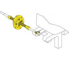 Seastar Motorbun Montageset 15 Graden