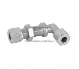 Schotkoppeling Haaks 8 mm Gas Staal